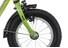 Vermont Race Boys Rower dziecięcy  12 calowe zielony